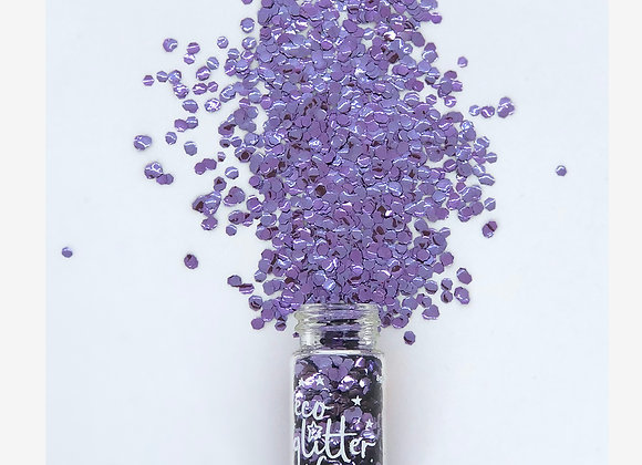 Eco Glitter Fun - Violetta Uber Chunky - Weather and Palette
