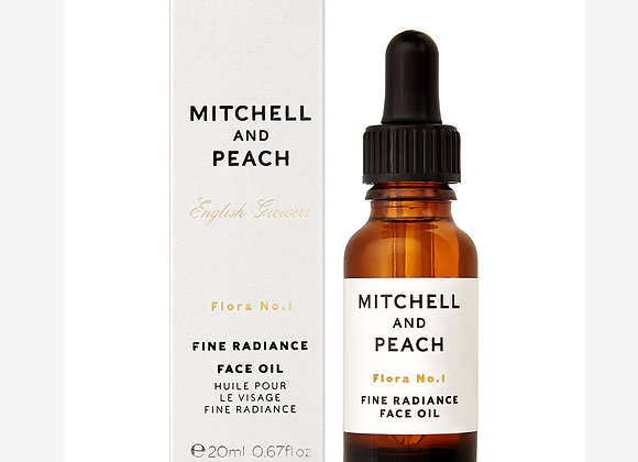 Mitchell and Peach - Flora No.1 Fine Radiance Face Oil - Weather and Palette