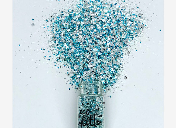 Eco Glitter Fun - Frozen Blend - Weather and Palette