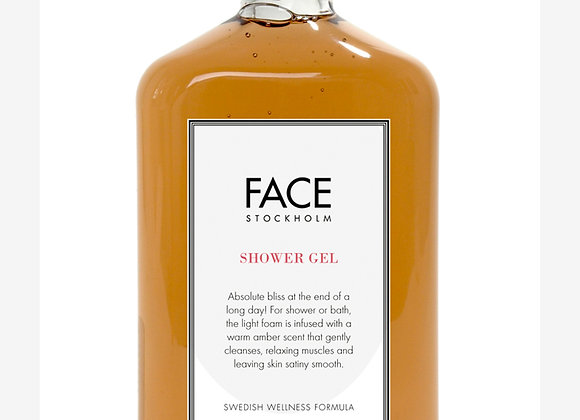 Face Stockholm Swedish Wellness Amber Shower Gel - Weather and Palette
