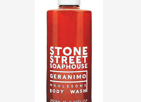 Stone Street Soaphouse - Geranimo - Wholesome Body Wash - Weather and Palette
