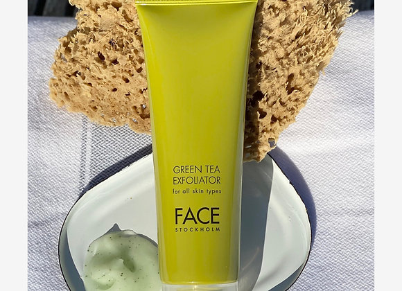 Face Stockholm Green Tea Exfoliator - Weather and Palette