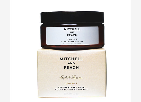 Mitchell and Peach - Flora No.1 Kentish Cobnut Scrub - Weather and Palette