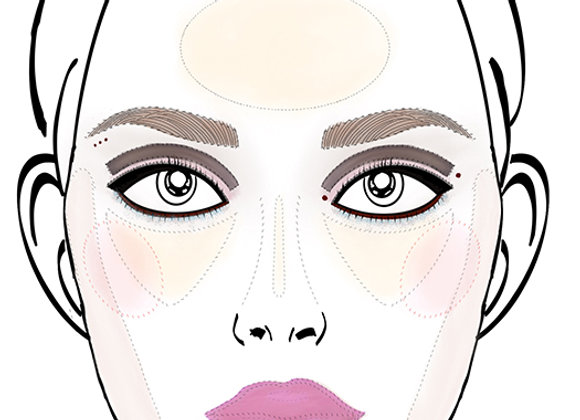 Twiggy Inspired Makeup Looks - Weather and Palette
