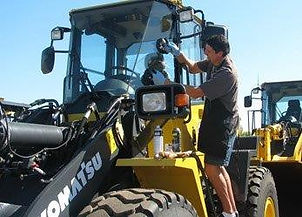 Replacing Tractor Glass