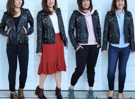 Mom Style Staples - Moto Jacket