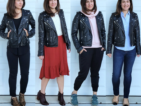 Mom Style Staples - Moto Jacket