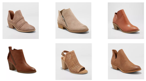 tan booties summer to fall transition