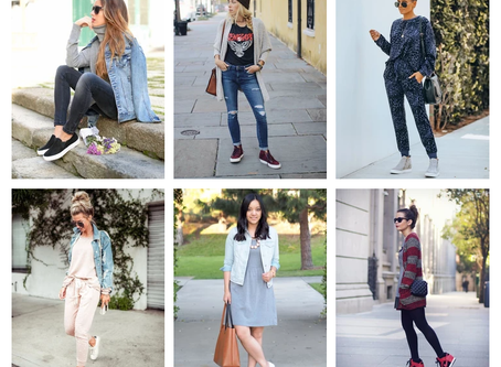 Mom Style Staples - Casual Sneakers