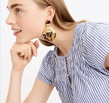 As Seen In - Earring and Top Combos