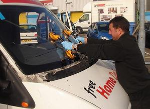 Replacing Van Windshield