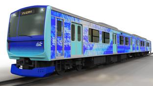 HYBARI, the dreamchild rail vehicle of Toyota, Hitachi, and JR East