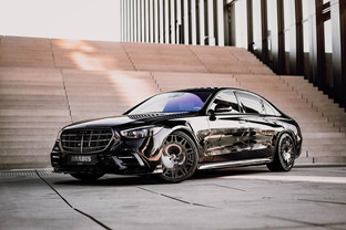 The new S-Class refined by BRABUS