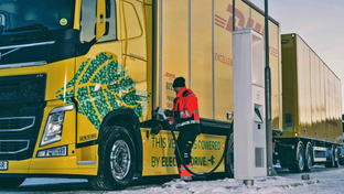 Volvo Trucks and DHL Freight team up in electric haulage