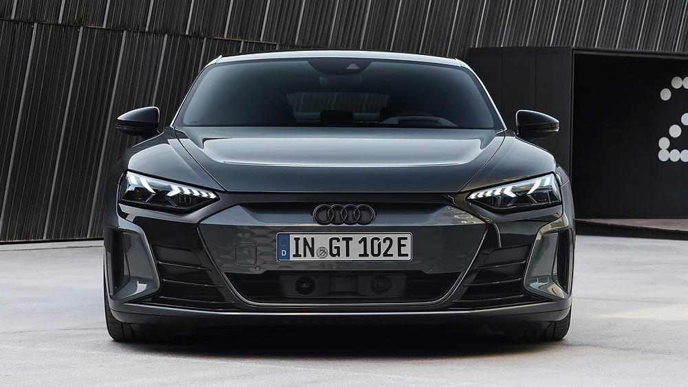 Audi RS e-tron GT front angle, Car, Auto, Autos, Automobile, Vehicle