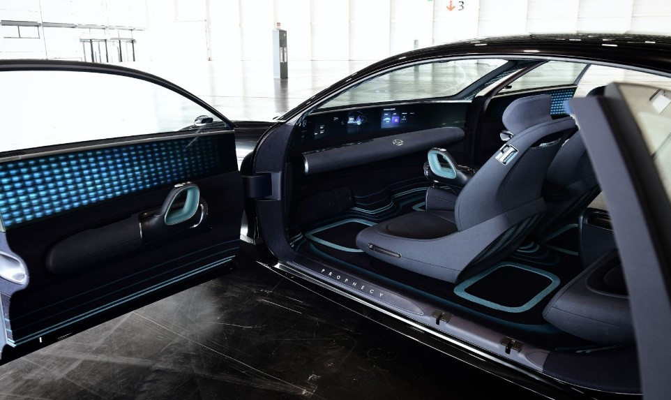 Huyndai Porphecy concept interior, Car, Auto, Automotive news, Trend, Vehicle