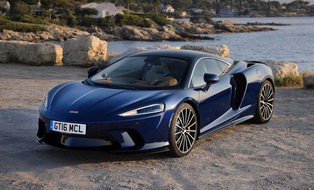 McLaren Automotive GT front angle