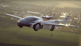AirCar completes first ever intercity flight