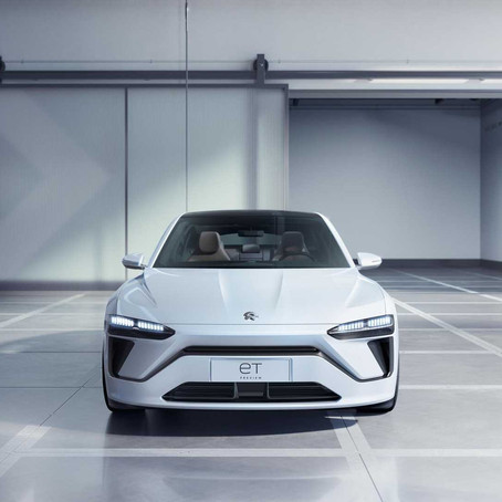 Chinese manufacturer NIO debuting flagship EV sedan