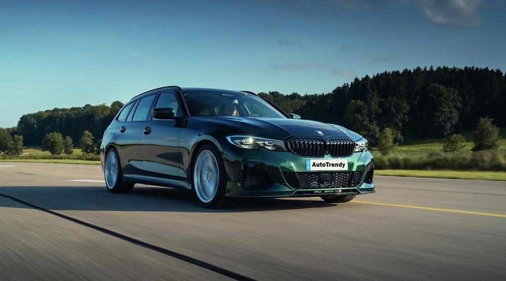 """BMW Alpina B3 TOURING in """"ALPINA Green II metallic"""" exclusive paintwork"""