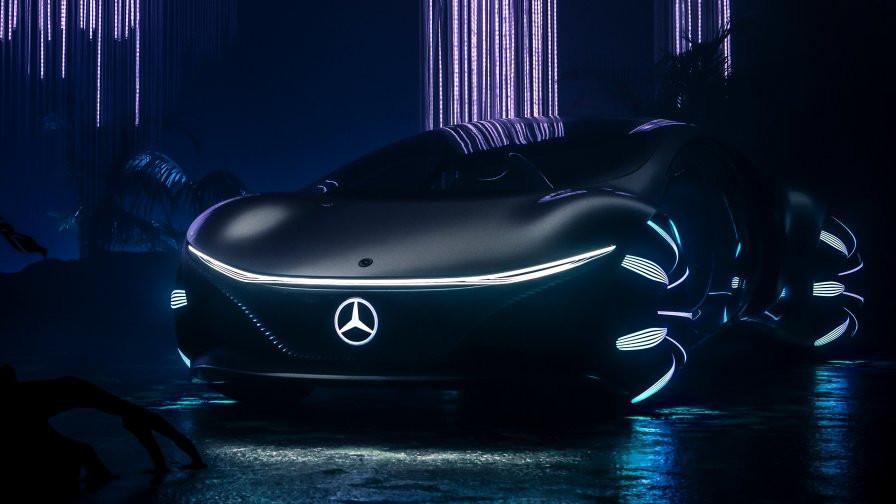 Mercedes-Benz VISION AVTR, Car, Auto, Automotive news, Trend, Vehicle