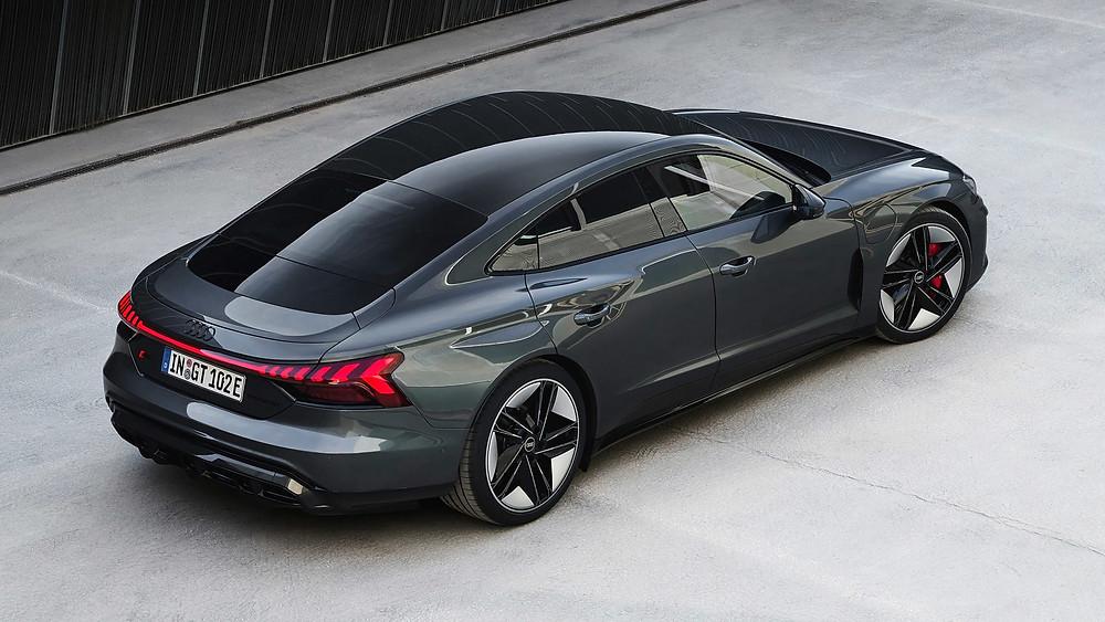 Audi RS e-tron GT side angle, Car, Auto, Autos, Automobile, Vehicle