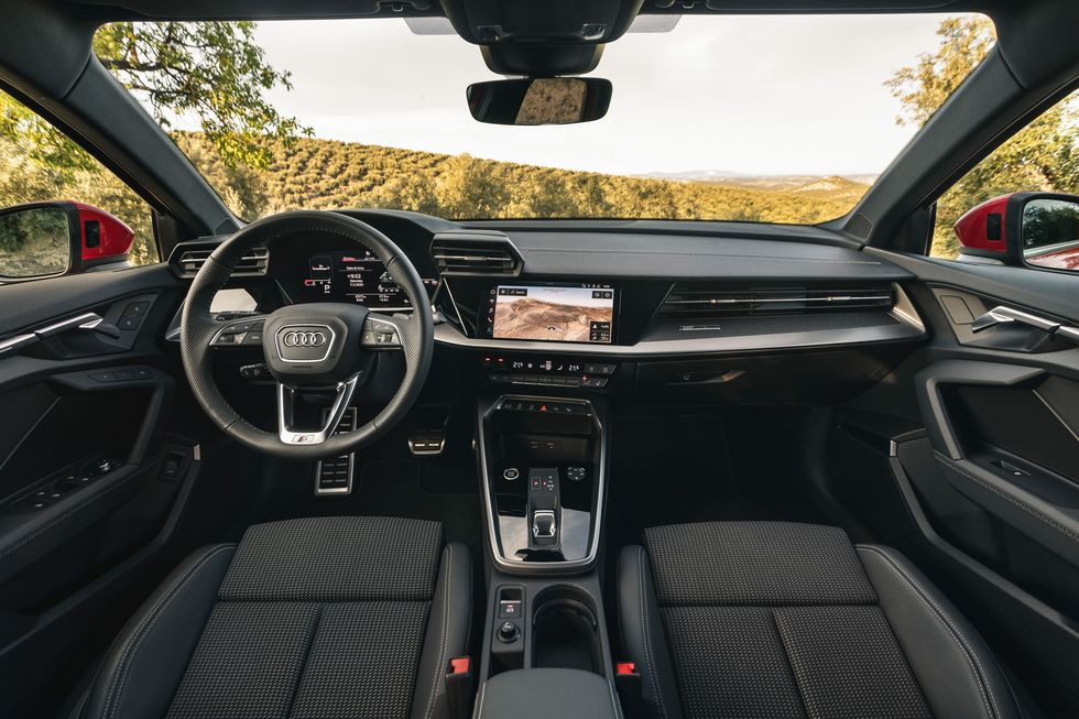 2020 Audi A3 35TDI Sportback interior, new car automotive