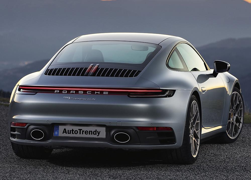 Porsche 911 Carrera 4S rear, Car, Automotive, Automotive news, Auto, Automobile