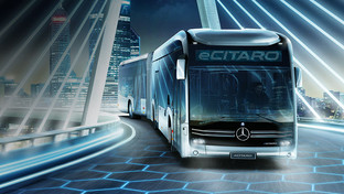 Mercedes-Benz making big moves with their brand new electric bus