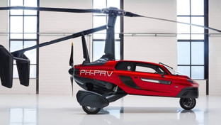 PAL-V flying cars become the first to hit the road