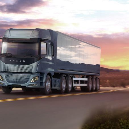 HYZON Motors' 100,000 hydrogen fuel-cell trucks