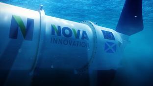 Nova Innovation powering cars with the ocean tide