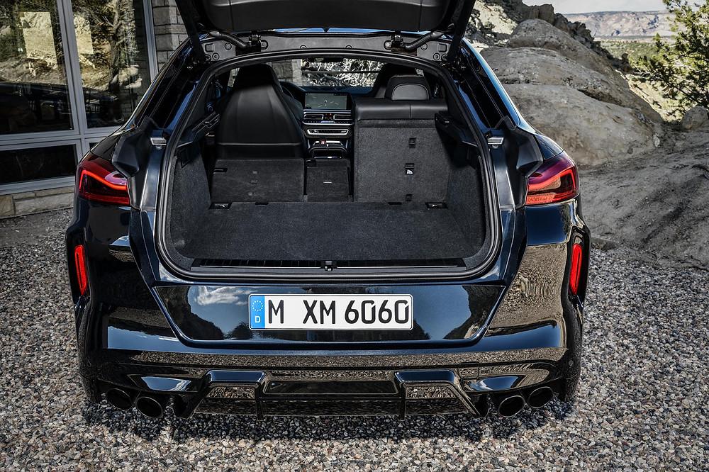 BMW X6 M Competition trunk space, Car, Automotive, Automotive news, Auto, Automobile