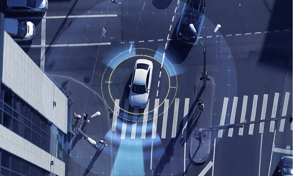 INRIX traffic and parking tracking system to help the automotive industry with autonomous vehicles in the future