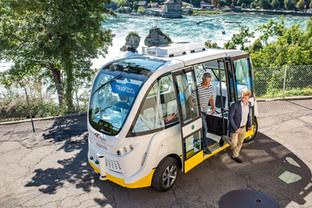 Switzerland's level 5 autonomous bus