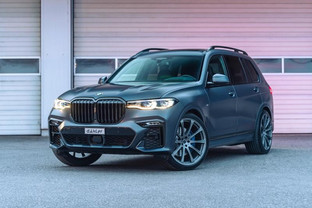 BMW X7 M50i from Dähler, more powerful than M5 CS