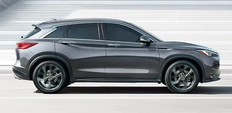 2020 INFINITI QX50 vehicle in profile, car automotive