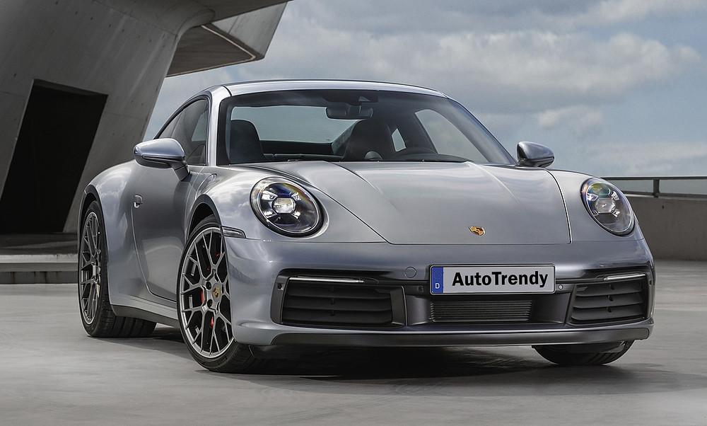Porsche 911 Carrera 4S front, Car, Automotive, Automotive news, Auto, Automobile