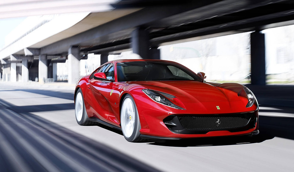 2020 Ferrari 812 Superfast front angle, automotive, car