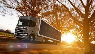 Scania pushes forward green commitments with solar cell trailers