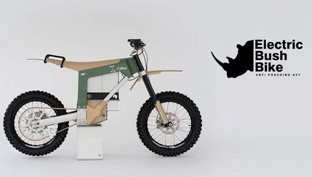 An electric dirt-bike made to combat poaching