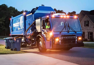Mack Trucks electrify the garbage collection industry