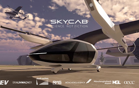 SkyCab: Europe's new flying taxi