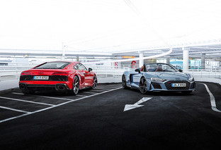 Audi R8 V10 RWD: more power transmitted only to the rear wheels