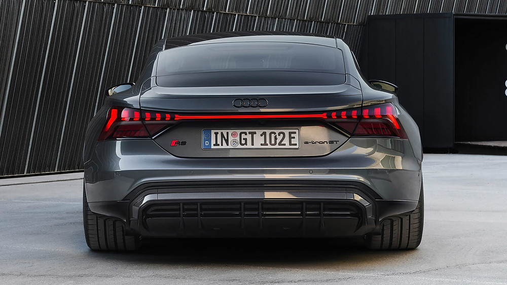 Audi RS e-tron GT rear angle, Car, Auto, Autos, Automobile, Vehicle