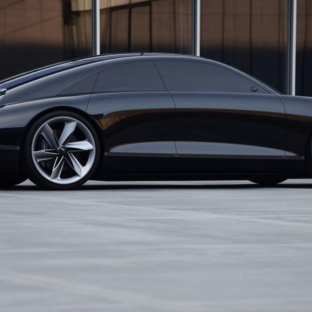 Hyundai Prophecy concept EV replacing the Hyundai Ioniq