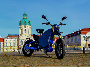 The Human Hybrid electric motorcycle
