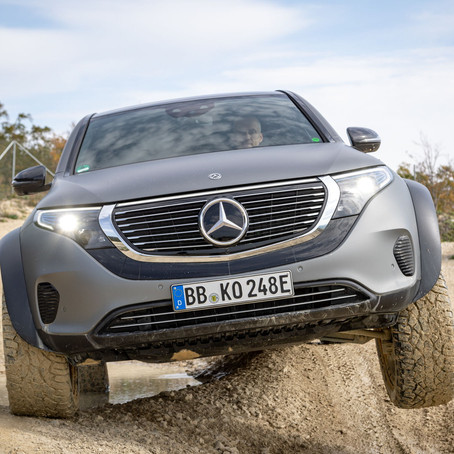 Daimler's continuing the 4x4 family in a sustainable way