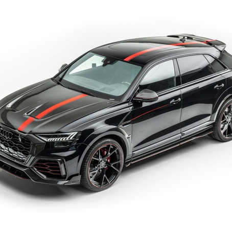 2020 MANSORY Audi RS Q8: insane tune on a fascinating SUV