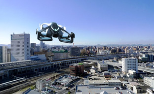 Go beyond driving with SkyDrive's flying car